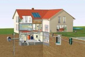 водопровод в частный дом и коттедж в Минске
