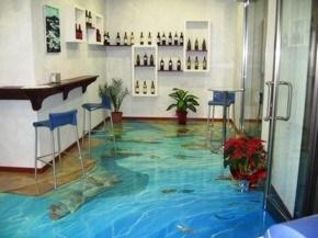 наливные полы 3d в Гродно