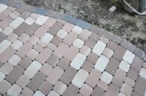 мощение тротуарной плитки в Могилеве